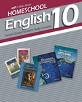 Homeschool English 10 Parent Guide and Student Daily Lessons