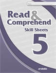 Read and Comprehend 5 Skill Sheets