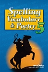 Spelling, Vocabulary, and Poetry 5