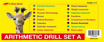 Arithmetic Drill Cards Set A