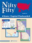 Nifty Fifty State and Capital Flashcards Thumbnail