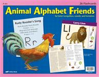 Animal Alphabet Friends Flashcards Thumbnail