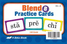 Blend Practice Cards B