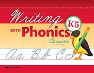 Writing with Phonics K5 Cursive (Unbound) Thumbnail