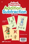 Addition and Subtraction Animal Flashcards