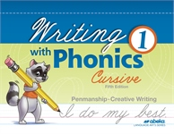 Writing with Phonics 1 Cursive (unbound)