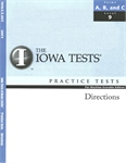 ITBS Practice Test Directions—Level 9