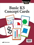 Homeschool Basic K5 Concept Cards Thumbnail