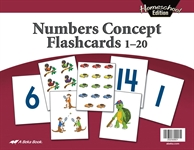 Homeschool Numbers Concept Flashcards Thumbnail