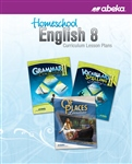 Homeschool English 8 Curriculum Lesson Plans—Revised