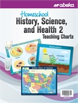 Homeschool History, Science, and Health 2 Teaching Charts Thumbnail