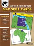 Eastern Hemisphere Map Skill Cards Thumbnail