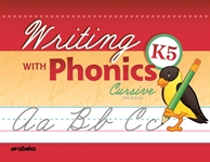 Writing with Phonics K5 Cursive Thumbnail