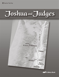 Joshua and Judges Test Key