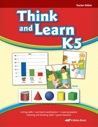 Think and Learn K5 Teacher Edition