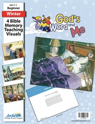 God's Word and Me Beginner Bible Memory Verse Visuals