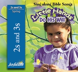 Little Hands Do His Will 2s & 3s CD