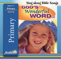 God's Wonderful Word Primary CD