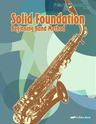 Band Method Alto/Baritone Saxophone