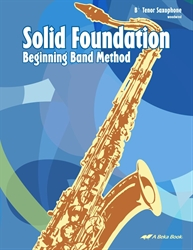 Band Method Tenor Saxophone