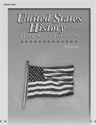 United States History: Heritage of Freedom Test Book