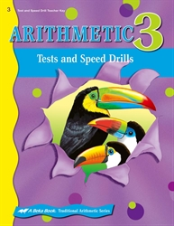 Arithmetic 3 Tests and Speed Drills Key