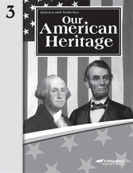 Our American Heritage Quiz and Test Key