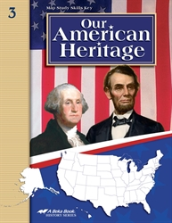 Our American Heritage Map Skills Key