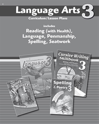 Language Arts 3 Curriculum