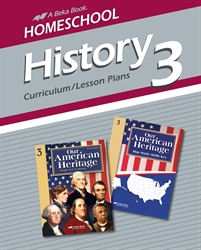 Homeschool History 3 Curriculum Lesson Plans
