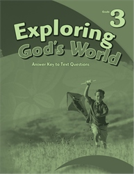 Exploring God's World Answer Key