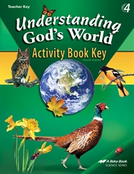 Understanding God's World Activity Book Key