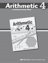 Arithmetic 4 Curriculum
