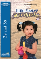 Little Feet Walk His Way 2s & 3s CD