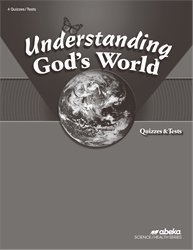 Understanding God's World Quiz and Test Book