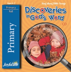 Discoveries in God's Word Primary CD