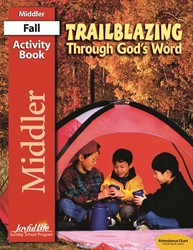 Trailblazing through God's Word Middler Activity Book