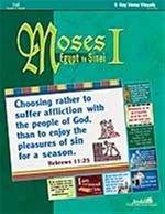 Moses I: Egypt to Sinai Key Verse Visuals