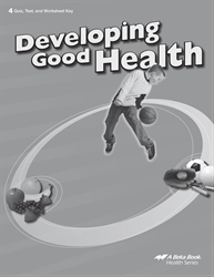 Developing Good Health Quiz, Test, and Worksheet Key
