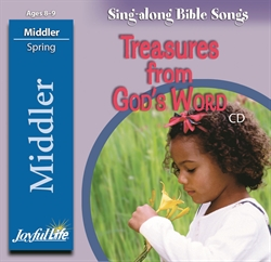 Treasures from God's Word Middler CD