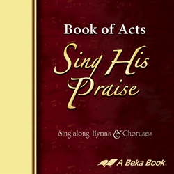 Book of Acts Sing His Praise CD