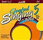 Joyful Singing for Teens #5 CD