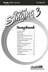 Joyful Singing for Teens #3 Songs