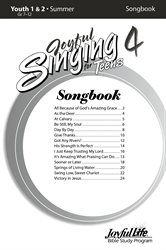 Joyful Singing for Teens #4 Songs