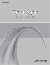 Science: Order and Design Test Book