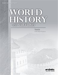 World History and Cultures Test and Map Project Book