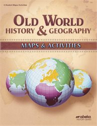 Old World History and Geography Maps and Activities Book