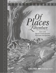 Of Places Quiz and Test Key