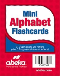 Mini Alphabet Flashcards