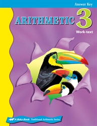 Arithmetic 3 Answer Key